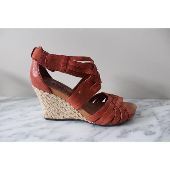 92fc989329e Clarks Shoes - • CLARKS INDIGO WEDGE SANDALS •